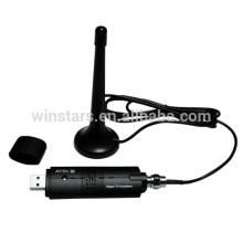 USB2.0 ATSC Analog & Digital Hybrid TV Tuner.Mini A + D USB TV Empfänger zum Fernsehen auf PC / Notebook / Computer