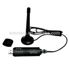 USB2.0 ATSC Analog&Digital Hybrid TV Tuner.Mini A+D USB TV receiver to watch TV on PC/Notebook/Computer