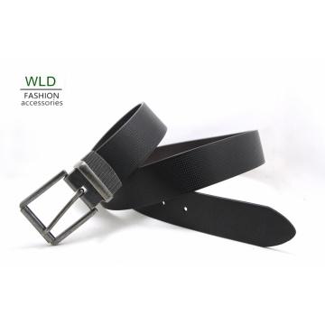 Fashion Basic Genuine Top Leather Men′s Belt Lky1198