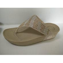 2016 Ladies Shiny Sandals Shoes
