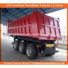 Heavy Duty Tri-Axle 40ton End Tipper/Dump Truck Trailer