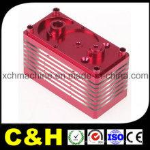 Chine Fabricant Noir Rouge Jaune Anodisé Aluminium CNC Usinage Pièces