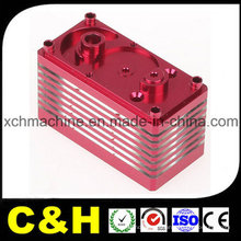 China Manufacturer Black Red Yellow Anodized Aluminum CNC Machining Parts