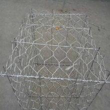 La cage enduite galvanisée lourde de boîtes de Gabion de 2 × 1 × 1m