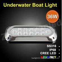 36W IP68 Warerproof LED Salt Water Light