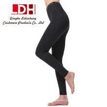 calças de caxemira calças grandes calças de alta qualidade espetadas grossas femininas de outono e calças quentes de inverno Calças com calças de moda
