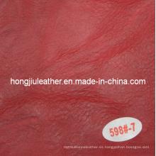 Wrinkle Imitation Cow Leather for Sofa
