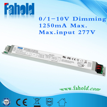 50W UL LED Linear Driver For Indoor
