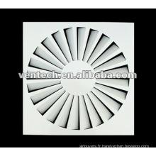 diffuseur à jet hélicoïdal air condition