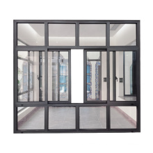 Wanjia thermal break aluminium double glazed windows