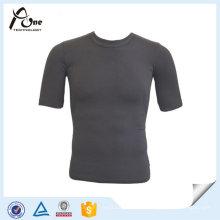Späteste Großhandelsmänner beiläufiges nahtloses Sportswear T-Shirt