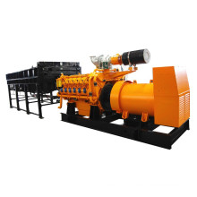 50Hz 1000kW 1250kVA Natural Gas Generator with Horizontal Radiator