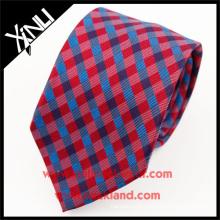 Laço colorido feito malha seda perfeito do pescoço do nó 100% feito sob encomenda