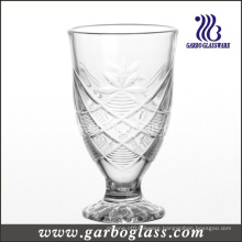 Footed Engraved Glass Cup (GB040706HT)