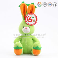 Factory direct sale big eye plush cheap bunny toys for easter