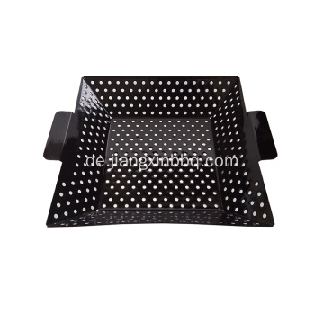 12 Zoll Square Emaille Grill Wok