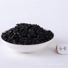 Carbón activado impregnado de plata