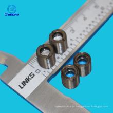 Tamanho M9X0.5 distância focal 8mm lentes de vidro colimador de laser