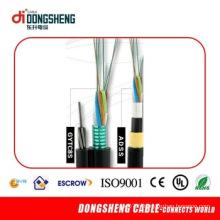 Câble de fibre optique autonome autoportant