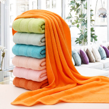 Essential Plain True Colours Bath Towels Collection