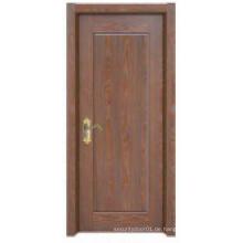 Einfache Plain Design Klassische Solide Holztür