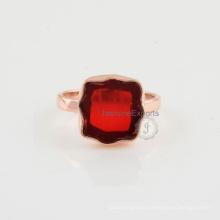 Wholesale Supplier Of Garnet Gemstone Sterling Silver Ring Jewelry