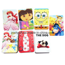Personalizado impresso cartoon mini papel cartão de jogo / cartão promocional para a criança