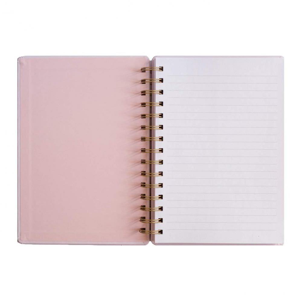 Flamingo Spiral Notebook 4