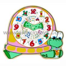 Wooden Clocks Puzzle (81357)