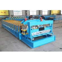 Glazed Roof Tile Roll Former Construction Tile Forming Machine