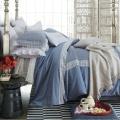 Encaje, ropa de cama cama Set hoja funda de edredón conjunto