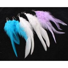 Festival Custom Cheap Peacock Feather Shaped Earrings