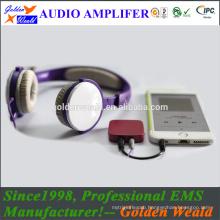 stereo amplifier headphone amplifier rechargeable battery amplifier