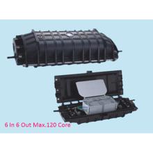 Horizontal 6 Ports 120 Cores Fiber Optic Splice Closure