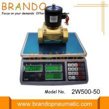Латунные 2W500-50 2/2 электромагнитные клапаны