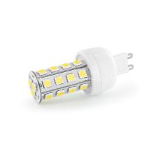 Nuevo 360degree Dimmable 4W 5050 SMD G9 cubierta de la bombilla del LED