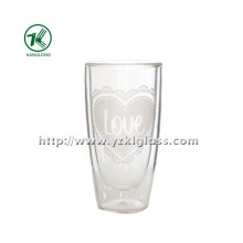 Bouteilles en verre à double paroi (6,3 * 4,5 * 12 170 ml)