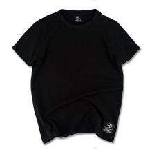 Camiseta al por mayor en blanco de la camisa llana de la mejor calidad 2017