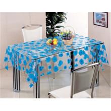 Material impreso del modelo y del PVC, prenda impermeable, impermeable del paño de tabla transparente de la característica
