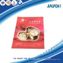 Nettoyage de microfibres de qualité parfaite pour la montre
