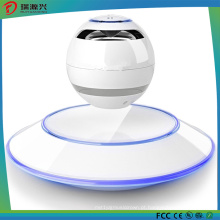 LED multicolorido de 360 graus e alto-falantes portáteis Levitating Bluetooth