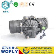 24VAC 24VDC agua de riego roscado 3 pulgadas solenoide válvula
