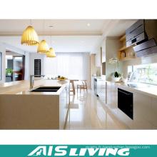 Armoires de cuisine faites sur commande de PVC de meubles de style de l'Europe (AIS-K701)