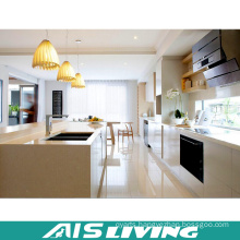 Europe Style Custom Made Furniture PVC Kitchen Cabinets (AIS-K701)