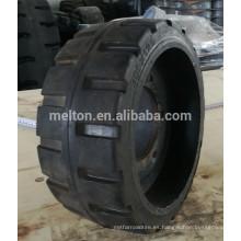 neumático con puerto de aire 300x125 con rueda