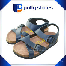 Comfortable Cork Sole Fashion Child Slippers