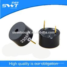 12 * 7,5 mm broche auto-frivole piézoélectrique transducteur buzzer 5v vibreur actif
