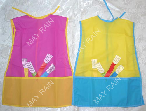 Children Pvc Drawing Apron