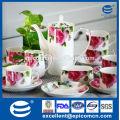 Набор для фарфоровых фарфоровых изделий из роз