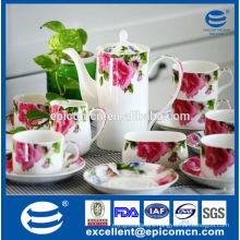 new bone china tea and coffee set wholesale